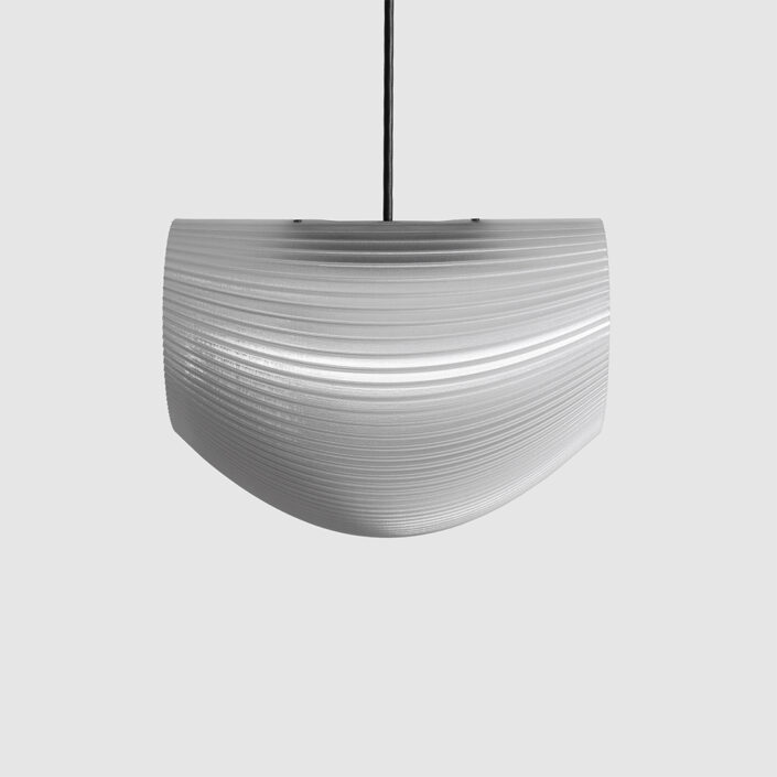 baleen LED light fixture decimal