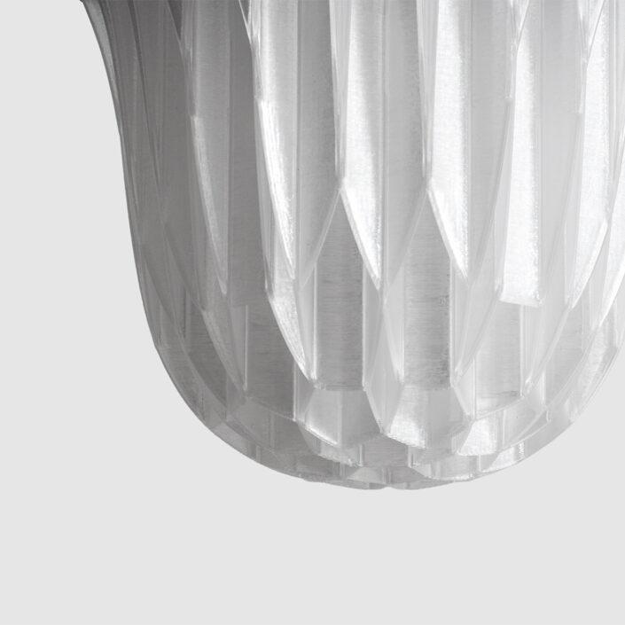 Agregar Decimal LED 3d printed lamp